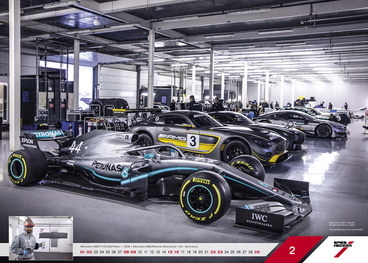 February - Mercedes-AMG F1 W10 EQ Power+ l 2019 l Mercedes-AMG Petronas Motorsport l UK - Silverstone