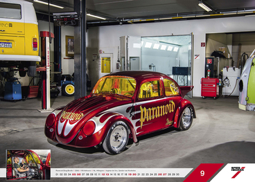 September - Paranoid Drag Beetle l 2018 l VW Airhouse l NL -Hillegom