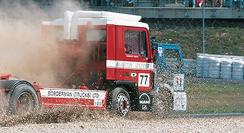 Truck race_elastic surfaces
