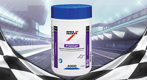 Speed-up the metal pretreatment: Priomat® Reactive Pretreatment Wipes 4000