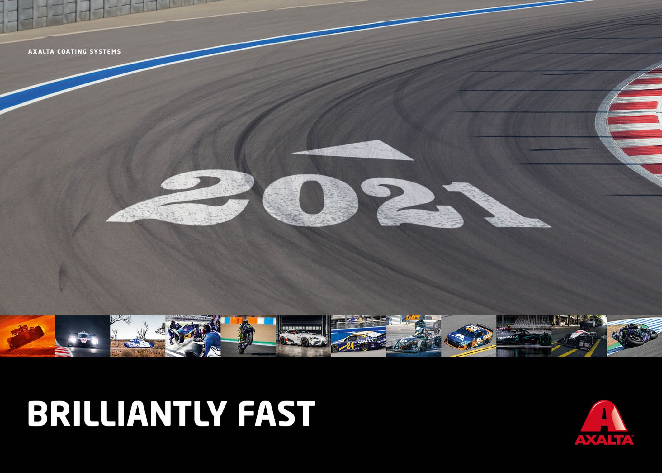 Axalta_Brilliantly_Fast_2021_Calendar front
