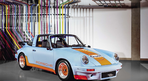 Porsche 911 by Trachta  – Schneider from Prague