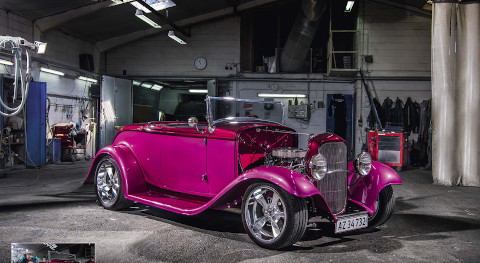 Ford A Roadster from Taulov Autolakering i/s from Denmark