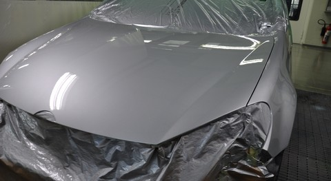 Final Result: A smooth surface that provides excellent gloss hold-out after top coating